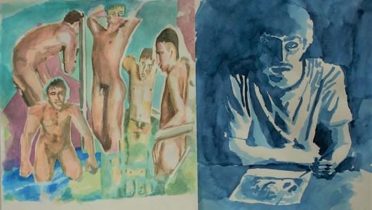 Daniele Formica   Boys by the Pool, Daniele Formica, Ellen de Bruijne Projects