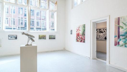 Van Ostade Biënnale II: Landscapes, Floor van het Nederend, Marijke van Seters, Galerie Fleur & Wouter