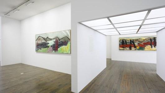 Horizon of Tuscany, Karel Appel, Slewe Gallery