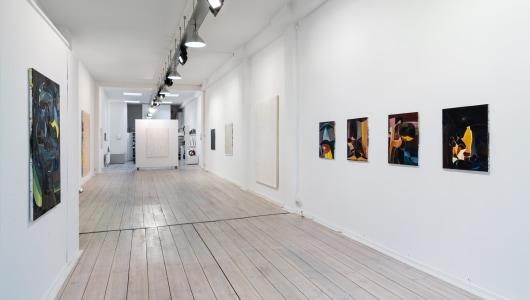 MET DE TIJD, Julius Stibbe, Sander Reijgers, Galerie Roger Katwijk
