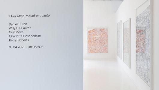 Over ritme, motief en ruimte, Guy Mees, Perry Roberts, Gallery Sofie Van de Velde