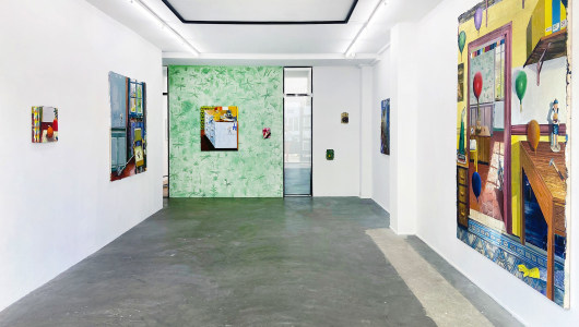 Perma-Peinture, Mathieu Cherkit, Albada Jelgersma Gallery