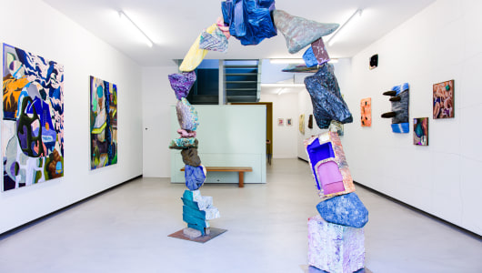 Play Doh's Cave, Sanne Maloe Slecht, Galerie Bart