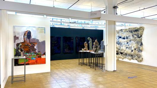 Art Rotterdam 2021, Ronny Delrue, Claudy Jongstra, Carolein Smit, Galerie Fontana
