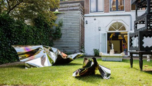 Overflowing Overgrowth, Kokou Ferdinand Makouvia, Natasha Rijkhoff, Tanja Smeets, Eirik Jahnsen, Galerie Bart