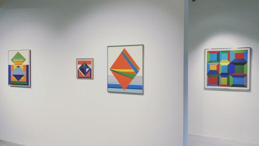 Guy Vandenbranden. The optical works, Guy Vandenbranden, Callewaert Vanlangendonck Gallery