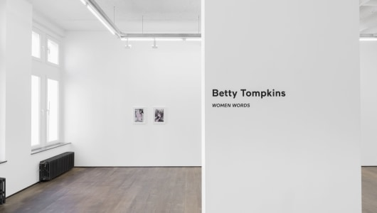 Women Words, Betty Tompkins, rodolphe janssen