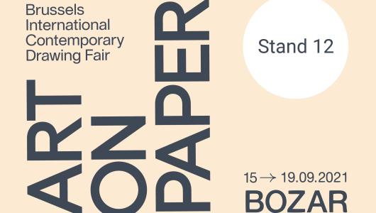 ART ON PAPER, Marc De Blieck, Marc Vanderleenen, Annie Gentils Gallery