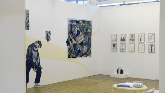 Art Rotterdam 2021, Andrea Freckmann, Susanna Inglada, Dirk Zoete, Galerie Maurits van de Laar
