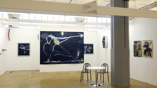 Art Rotterdam 2021, Monali Meher, Matea Bakula, Thierry Oussou, Rini Hurkmans, Daniel de Paula, Lumen Travo Galerie