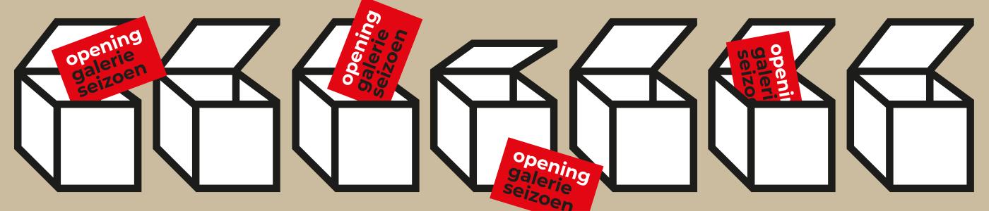Kom naar de opening van het Galerieseizoen