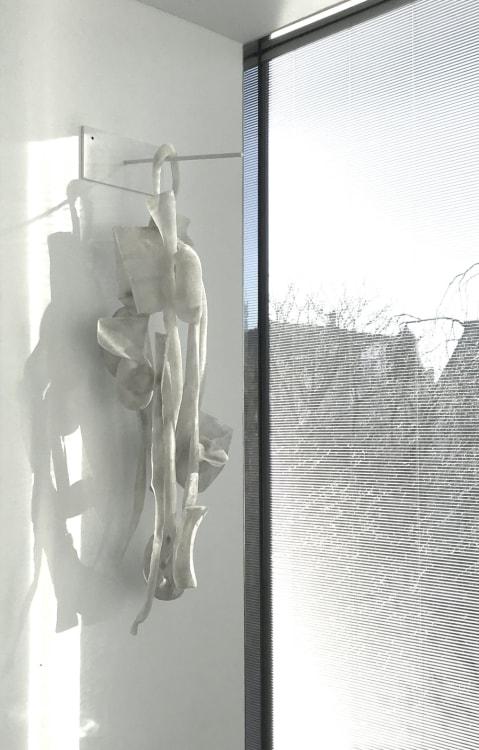 'Het stille WIT' 10 maart borrel met kunstenaars, Marinke van Zandwijk, Kees de Vries, Robbert de Goede, Deirdre McLoughlin, Tonneke Sengers, Katrien Vogel, Marja Kennis, Helene Briels, Rob Regeer,