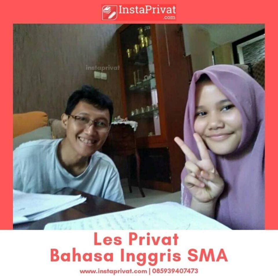 les privat bahasa inggris SMA di Bogor biaya murah guru pengalaman