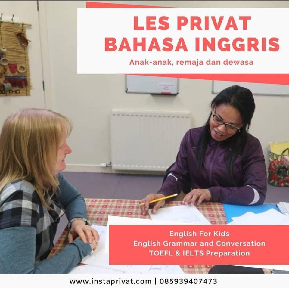 Les privat bahasa inggris murah di jakarta tangerang bogor bekasi depok guru ke rumah