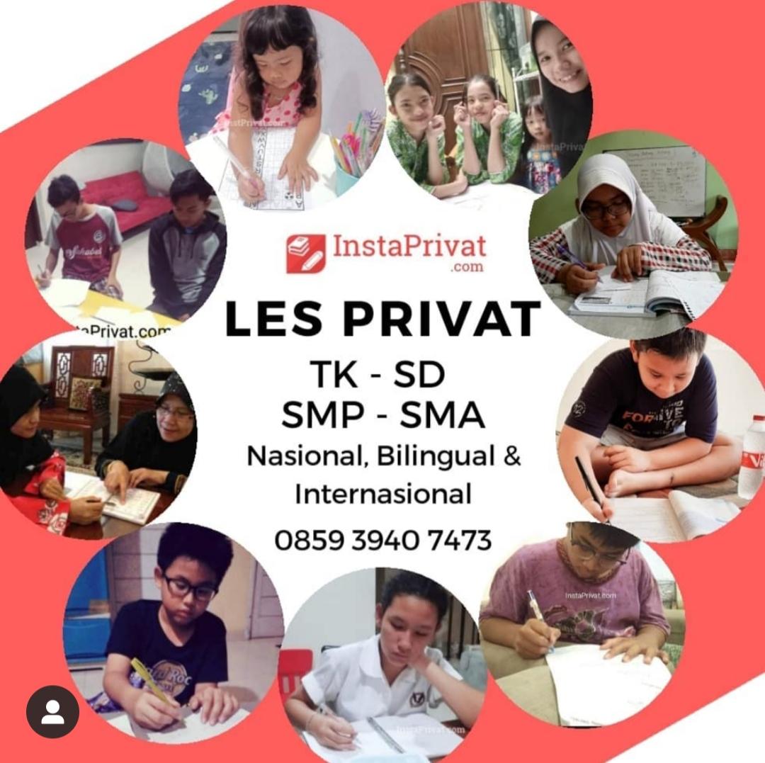 Les privat guru ke rumah di Tangerang, BSD, Karawaci, Serpong, Bintaro, Cileduk berpengalaman biaya murah