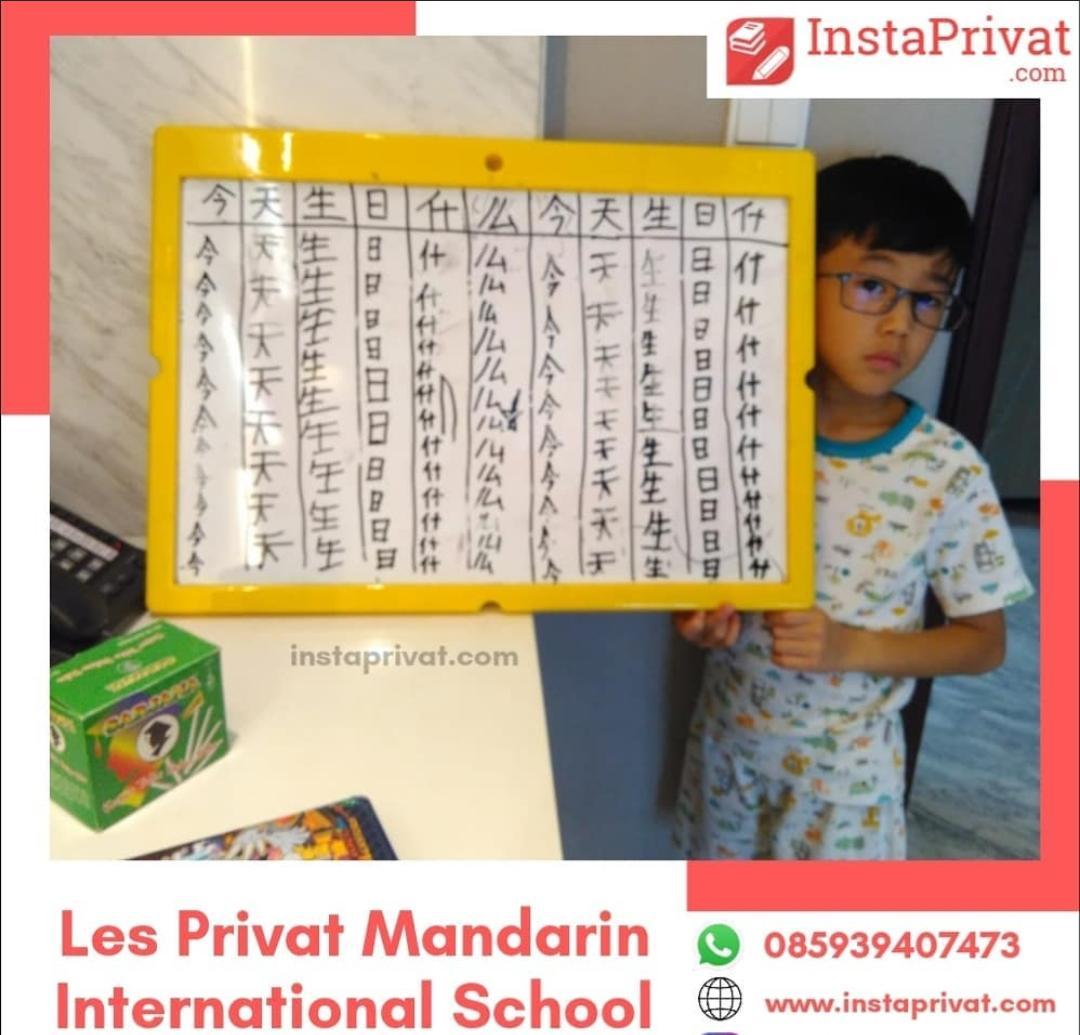 Les privat mandarin ke rumah TK SD SMP SMA biaya terjangkau