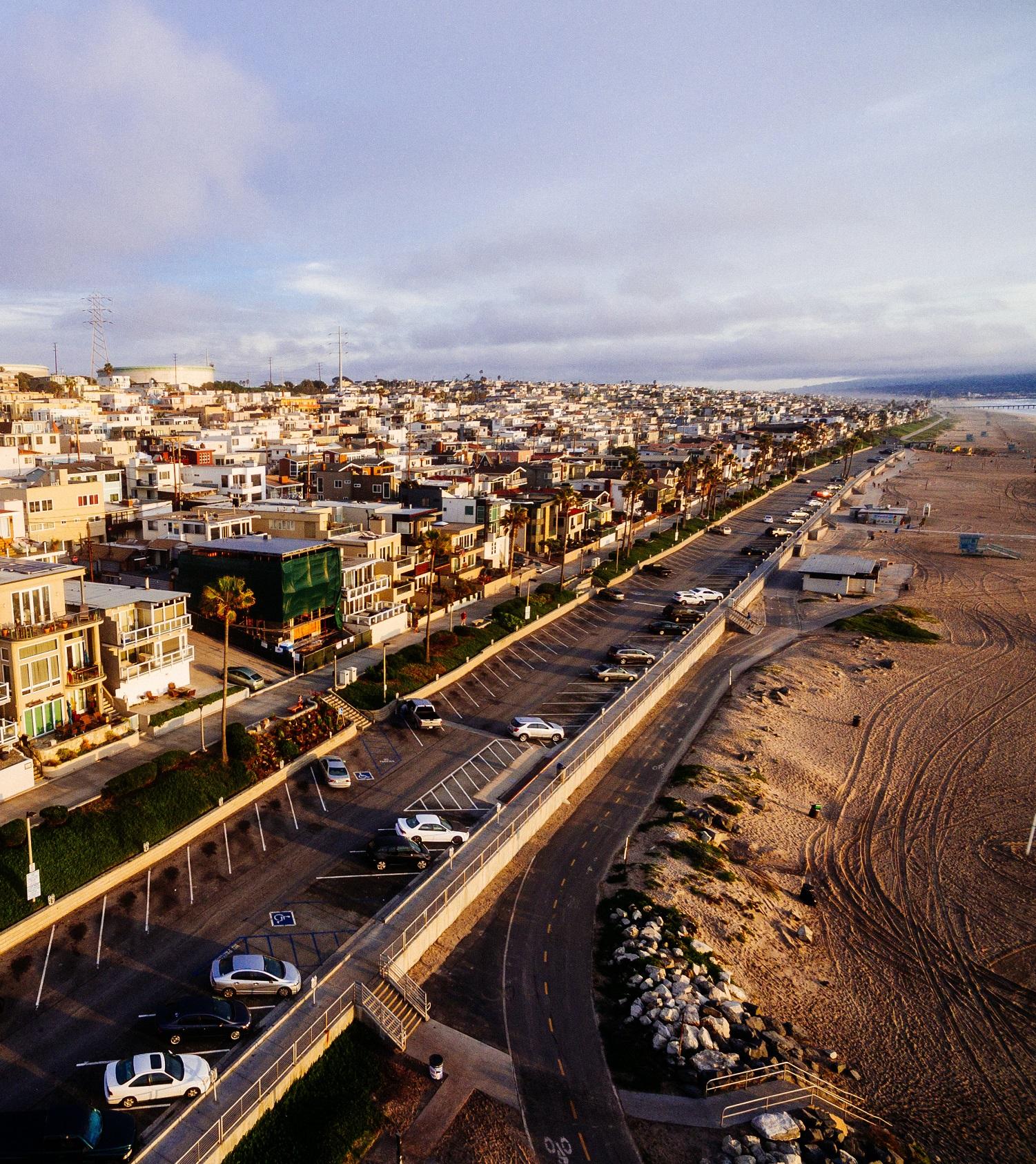 el porto manhattan beach skyline