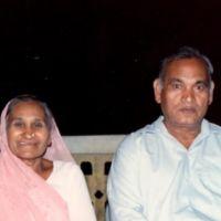 Hansrajbhai and Gunvantiben