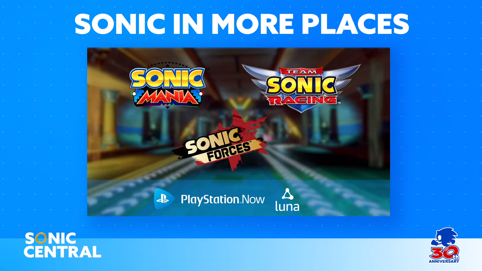 Sonic Central PlayStation