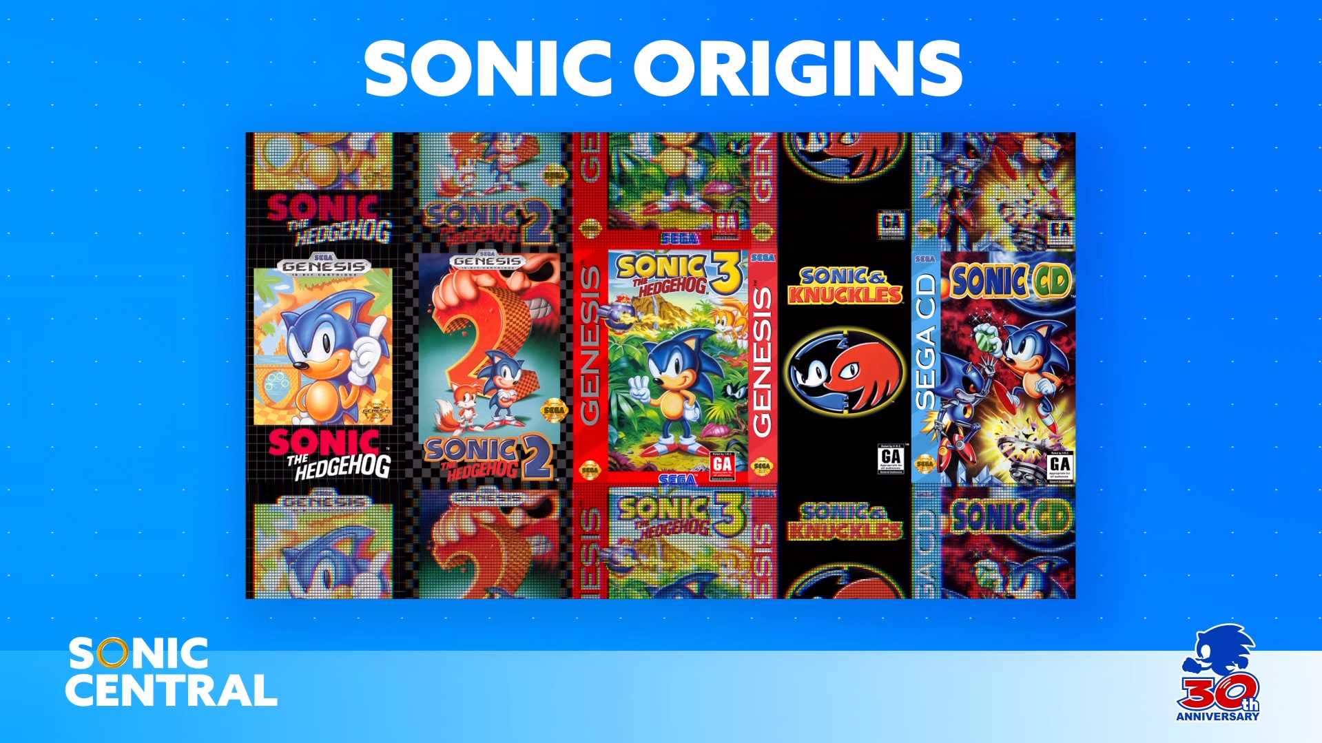 Sonic Central Classic Games