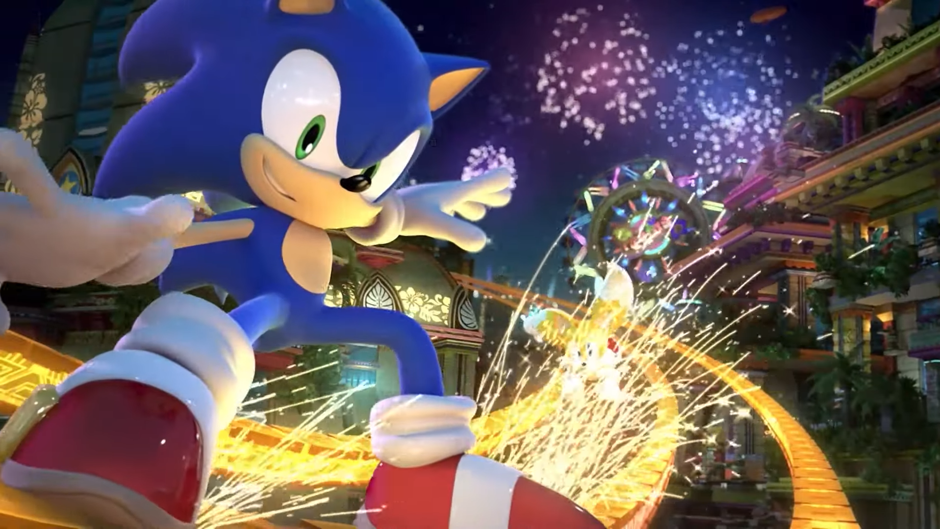 Sonic Central Colors