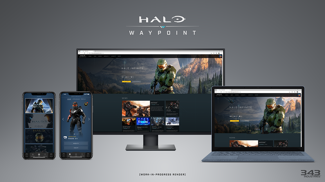 Halo Waypoint for Halo Infinite, Guardians, and MCC