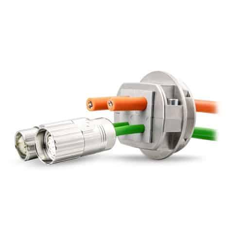 Kabelgenomföring EMC / EMC-KVT-DS från C-Pro AB