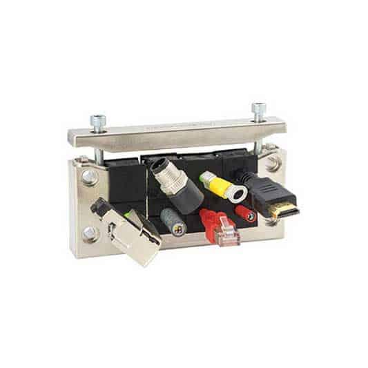 Kabelgenomföringsram EMC-KEL-U-16 från icotek levereras av C-Pro