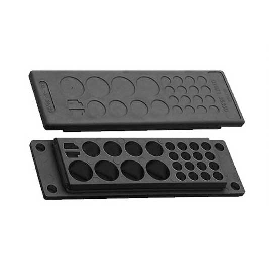 Kabelgenomföringsplatta KEL-DP-svart från icotek levereras av C-Pro