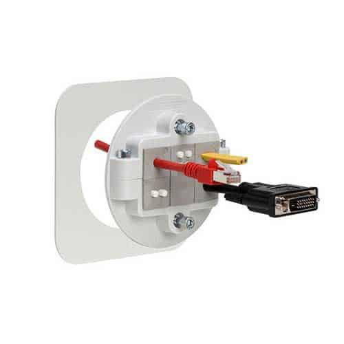 Kabelgenomföring KVT80 grå från icotek levereras av C-Pro