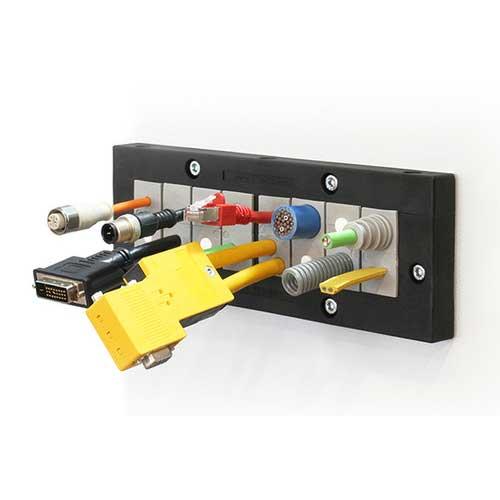 Kabelgenomföringsram KEL183-E från icotek levereras av C-Pro