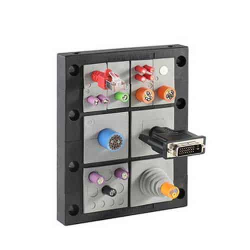 Kabelgenomföringsram KEL-16-2MT från icotek levereras av C-Pro