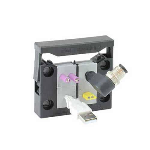 Kabelgenomföringssystem KEL-quick-B från icotek levereras av C-Pro