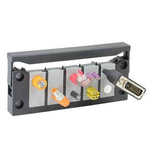 Kabelgenomföringssystem KEL-Quick-24 från icotek levereras av C-Pro