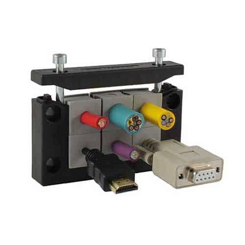 Kabelgenomföringsystem KEL-ER10 från icotek levereras av C-Pro
