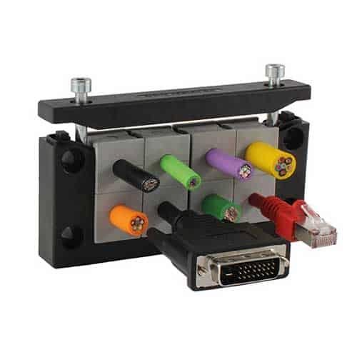 kabelgenomföringssystem KEL-ER16 från icotek leveraras från C-Pro