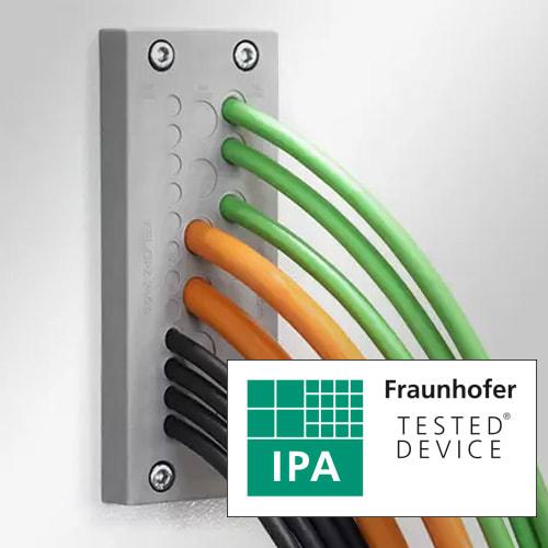 Innovativa kabelgenomföringar för renrum