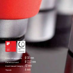 Tryckknappar Dux-Basic levereras av C-Pro