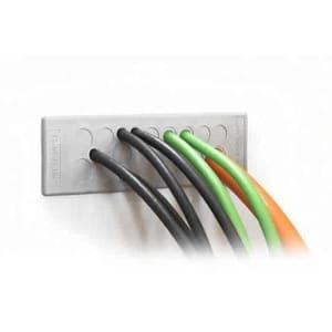 Kabelgenomföringsplatta KEL-DP-grå från icotek levereras av C-Pro