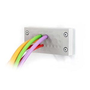Kabelgenomföringsplatta KEL-DPZ-16-grå från icotek levereras av C-Pro