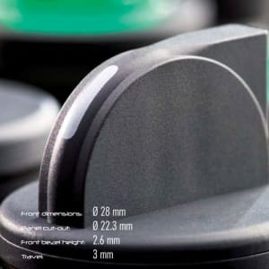 Tryckknappar RX-Juwel levereras av C-Pro