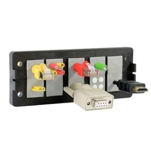 Kabelgenomföringsramar - levereras av C-Pro