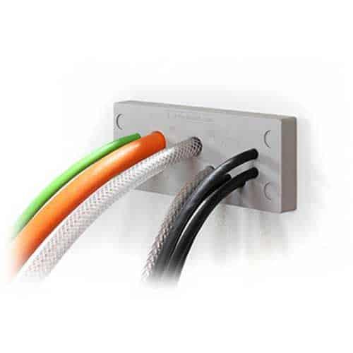 Kabelgenomföringsplatta KEL-DPU - levereras av C-Pro