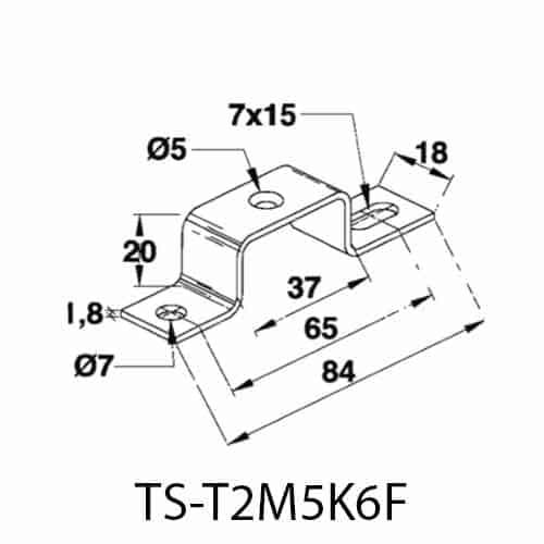 Distans TST-T2M5 skiss