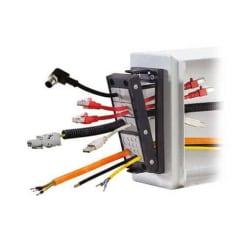 Monteringsramar Snap-in för kabelgenomföring, IP54 / UL Typ 2 / KEL-SNAP
