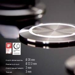 Trycknappar Rontron-R-Juwel levereras av C-Pro