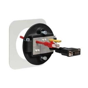 Kabelgenomföring KVT80-svart från icotek levereras av C-Pro