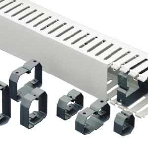 Kabelhållare CL för Iboco kabelkanaler levereras av C-Pro