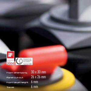 Tryckkanppar Quartex-R-Juwel levereras av C-Pro