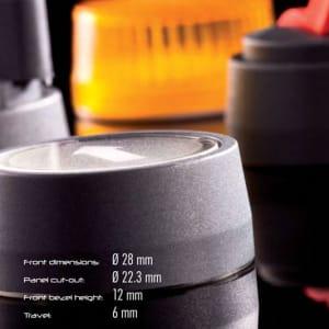 Tryckknappar Rondex levereras av C-Pro